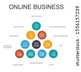 online business infographic 10...