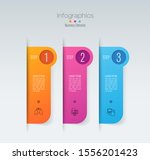 infographics design vector... | Shutterstock .eps vector #1556201423