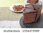 Sacher Cake.typical Austrian...
