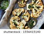 Cauliflower Steaks With A...