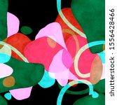 stylish texture in modern art... | Shutterstock . vector #1556428466