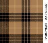 tartan plaid black and brown... | Shutterstock .eps vector #1556438339