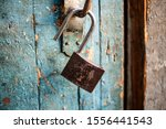 A Lock On The Door. The Old...