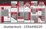 fashion social media post... | Shutterstock .eps vector #1556448239
