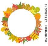 vector greeting card stencil... | Shutterstock .eps vector #1556560343