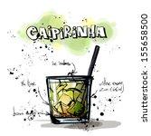 hand drawn illustration of... | Shutterstock .eps vector #155658500