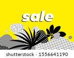 sale banner bright vector... | Shutterstock .eps vector #1556641190