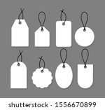 price tag collection. paper... | Shutterstock .eps vector #1556670899