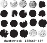 big collection of grunge post... | Shutterstock .eps vector #1556694659