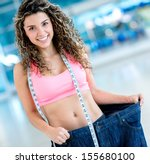 Fit Woman In Big Pants After...