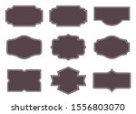 vintage labels. retro frames... | Shutterstock .eps vector #1556803070