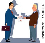 misleading contract....   Shutterstock .eps vector #155681816