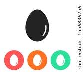 an egg icon vector. lorem ipsum ...   Shutterstock .eps vector #1556836256