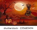 halloween holiday that everyone ... | Shutterstock .eps vector #155685494