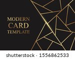 modern geometric luxury card... | Shutterstock .eps vector #1556862533