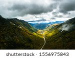 Looking Down Crawford Notch In...
