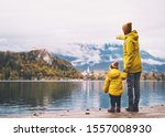 Family Travel Europe. Mother...