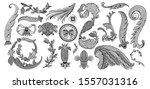 set design element isolated....   Shutterstock .eps vector #1557031316