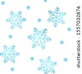 christmas blue pattern ... | Shutterstock .eps vector #1557032876