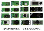 video card  graphic card vector ...   Shutterstock .eps vector #1557080993