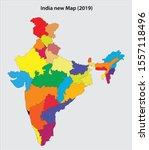 vector illustration of india... | Shutterstock .eps vector #1557118496