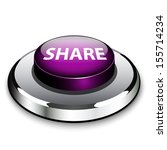 a purple button with the word... | Shutterstock .eps vector #155714234