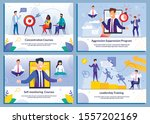 business training courses for...   Shutterstock .eps vector #1557202169