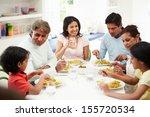 Multi Generation Indian Family...