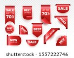 price tag and best sale... | Shutterstock .eps vector #1557222746