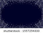 frosty pattern. new year ...   Shutterstock .eps vector #1557254333