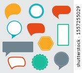 sticker  speech bubble  text... | Shutterstock .eps vector #1557255029
