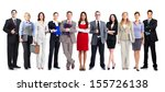 group of employee people.... | Shutterstock . vector #155726138