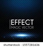 magic scene. elegant shining... | Shutterstock .eps vector #1557281636