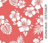 hawaiian aloha shirt seamless... | Shutterstock .eps vector #155733629