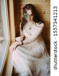 Beautiful Stylish Bride In A...