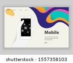 web page template and phone...