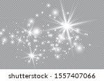 sparkling magical dust... | Shutterstock .eps vector #1557407066