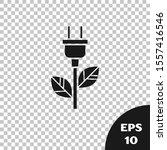black electric saving plug in...   Shutterstock .eps vector #1557416546