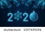 abstract happy 2020 new year... | Shutterstock .eps vector #1557459296