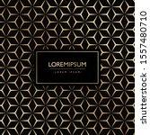 luxury pattern pentagon... | Shutterstock . vector #1557480710