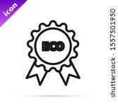 black line banner  label  tag ... | Shutterstock .eps vector #1557501950