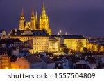 Prague Castle And Lesser Town...