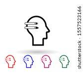 human mind  design multi color...