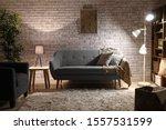 Stylish Interior Of Room At...