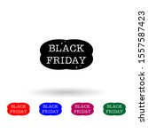 black friday  sticker multi...