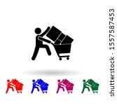shopper man trolley multi color ...