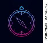 compass nolan icon. simple thin ...