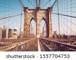 Brooklyn Bridge In The Morning  ...