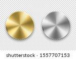 vector realistic metallic knob. ...   Shutterstock .eps vector #1557707153