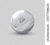 metal ball vector .strip paint ... | Shutterstock .eps vector #1557708626